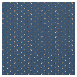 Toucan Frenzy Fabric (Navy)