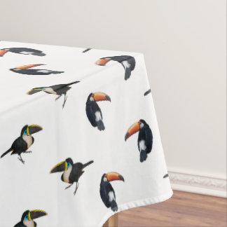 Toucan Frenzy Tablecloth (Choose Colour)