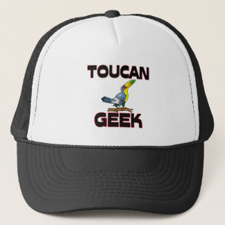 Toucan Geek Trucker Hat