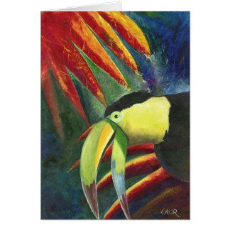 Toucan Greeting Card