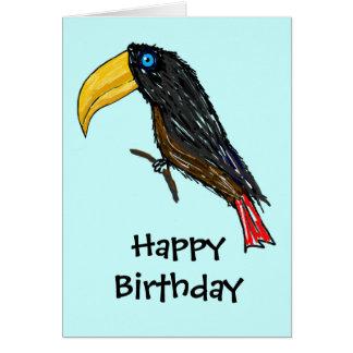 Toucan Happy Birthday Card