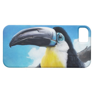 Toucan in Misty Air digital tropical bird painting iPhone 5 Covers