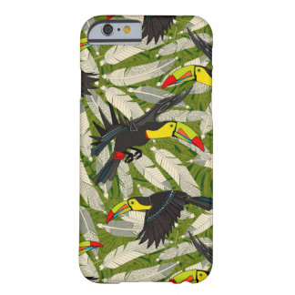 toucan jungle barely there iPhone 6 case