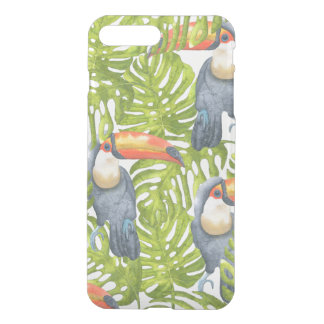 Toucan Jungle Bird Trees Pattern iPhone 7 Plus Case