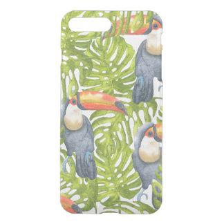 Toucan Jungle Bird Trees Pattern iPhone 8 Plus/7 Plus Case