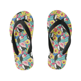 Toucan Kid's Flip Flops
