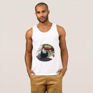 Toucan Men's Ultra Cotton Tank Top, White