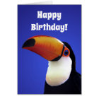 Toucan of Affection Punny Birthday Card