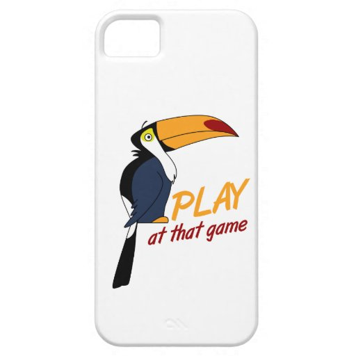 Toucan Play At That Game iPhone 5 Case