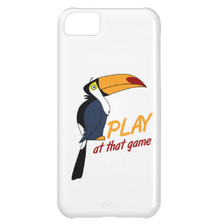 Toucan Play At That Game Cover For iPhone 5C
