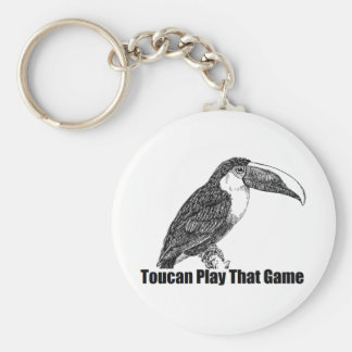 Toucan Play That Game Key Ring
