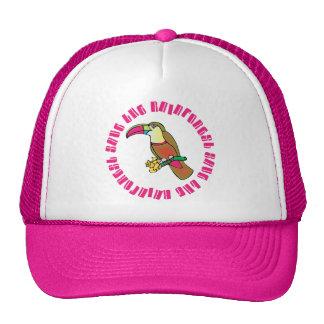 Toucan Save The Rainforest T-shirt Gift Cap