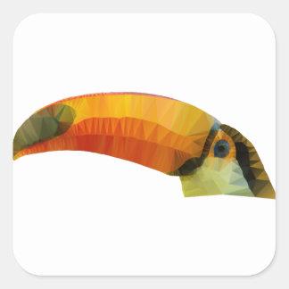 Toucan Square Sticker
