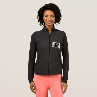 Toucan Women's Practice Jacket, Dark Grey Jacket