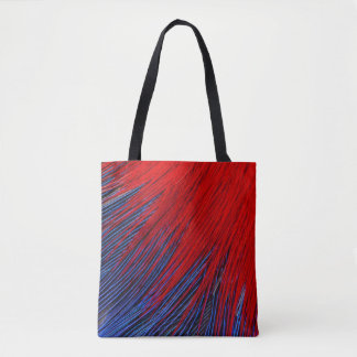 Toucanet Feather Abstract Tote Bag