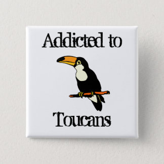 Toucans 15 Cm Square Badge