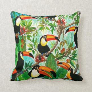 Toucans Cushion