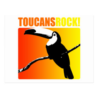 Toucans Rock! Postcard