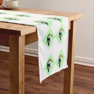 Toucans Short Table Runner