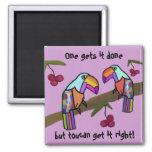Toucans Teamwork Magnet Fridge Magnets