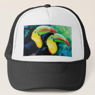 Toucans Trucker Hat