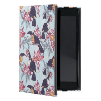 Toucans With Exotic Flowers iPad Mini Case