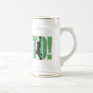 Touch Down Football T-shirts and Gifts Beer Steins