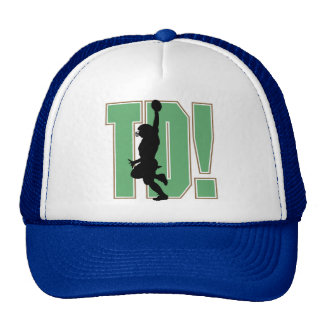 Touch Down Football T-shirts and Gifts Cap