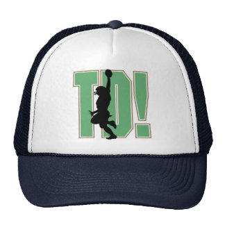 Touch Down Football T-shirts and Gifts Mesh Hat