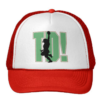 Touch Down Football T-shirts and Gifts Mesh Hats