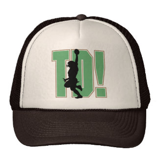 Touch Down Football T-shirts and Gifts Hat