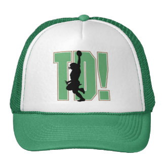 Touch Down Football T-shirts and Gifts Trucker Hats