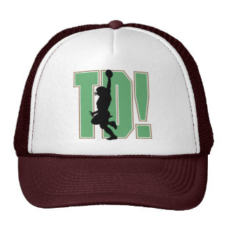 Touch Down Football T-shirts and Gifts Trucker Hat