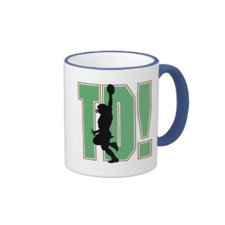 Touch Down Football T-shirts and Gifts Mug