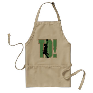 Touch Down Football T-shirts and Gifts Standard Apron