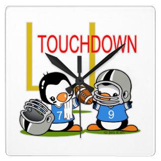 Touch Down Football Wallclocks