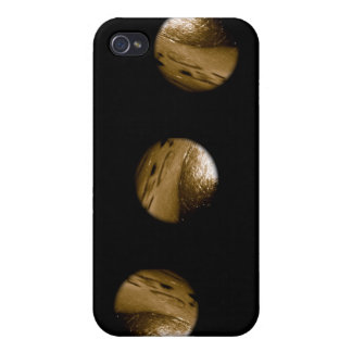 Touch it if you dare -Black Button Universe iPone iPhone 4 Covers
