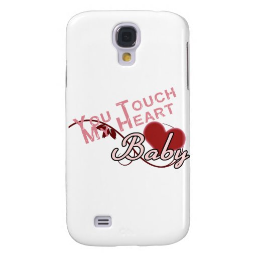 Touch - miss a Shirt Design Galaxy S4 Cover