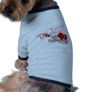 Touch - miss a Shirt Design Dog T Shirt