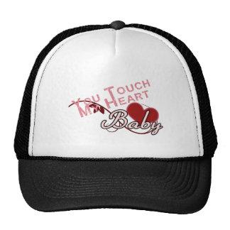 Touch - miss a Shirt Design Hats