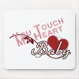 Touch - miss a Shirt Design Mouse Pad