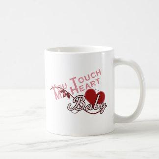 Touch - miss a Shirt Design Mugs