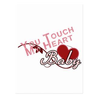 Touch - miss a Shirt Design Postcards