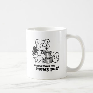 TOUCH MY HONEY POT -.png Coffee Mug