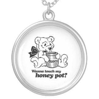 TOUCH MY HONEY POT - png Personalized Necklace