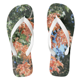 Touch of Fall Flip Flops
