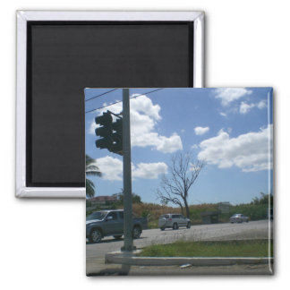 Touch of Nature Square Magnet