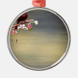touch of paradise.jpg Silver-Colored round decoration