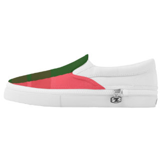 TOUCH of Pink _ Unisex Slip On's Printed Shoes