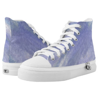 Touch the Ocean Hi Top Printed Shoes